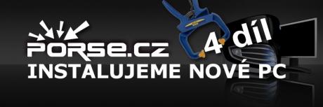 Instalujeme nové PC díl 4 komprimační nástroje