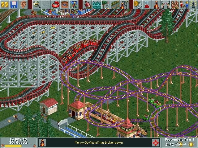 how to download roller coaster tycoon 3