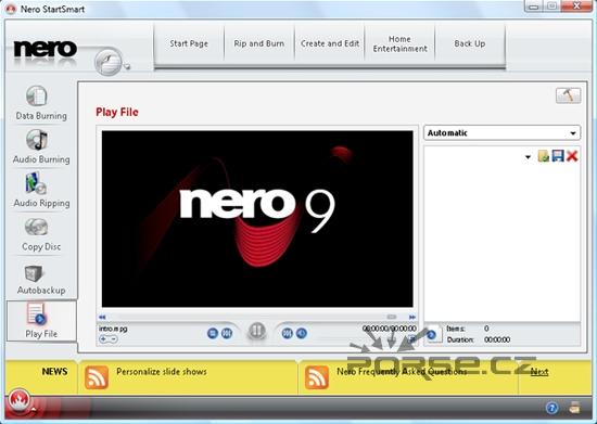 Nero 9 je tady