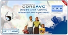 Náhled programu CoreAVC. Download CoreAVC