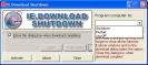 Náhled k programu IE.Download Shutdown