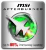Náhled programu MSI Afterburnet. Download MSI Afterburnet