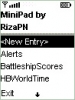 Náhled k programu MiniPad