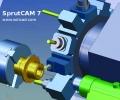 Náhled programu SprutCAM_7. Download SprutCAM_7