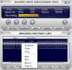 Náhled k programu Super Mp3 Recorder