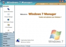 Náhled k programu Windows 7 Manager