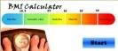 Náhled k programu BMI  kalkulačka
