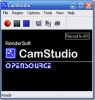 Náhled programu CamStudio. Download CamStudio