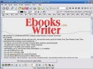 Náhled programu eBooksWriter. Download eBooksWriter