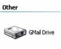 Náhled k programu GMail Drive