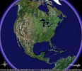 Náhled k programu Google Earth