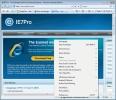 Náhled k programu IE7pro
