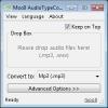 Náhled k programu AudioTypeConverter
