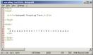 Náhled k programu Notepad2