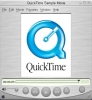 Náhled programu Quick Time. Download Quick Time