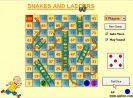 Náhled k programu Snakes and Ladders