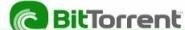 Náhled programu BitTorrent