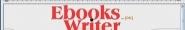 Náhled programu eBooksWriter